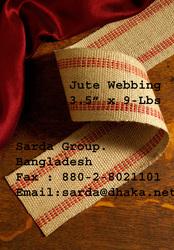 UPHOLSTERY JUTE WEBBING AND BURLAP