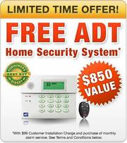 FREE ADT Home Alarm System from Home Security San Diego