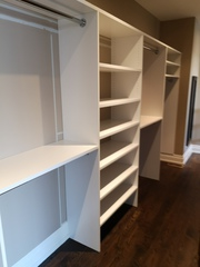 Build A Low Cost Custom Reach In Closet In Toronto By Space Age Closet